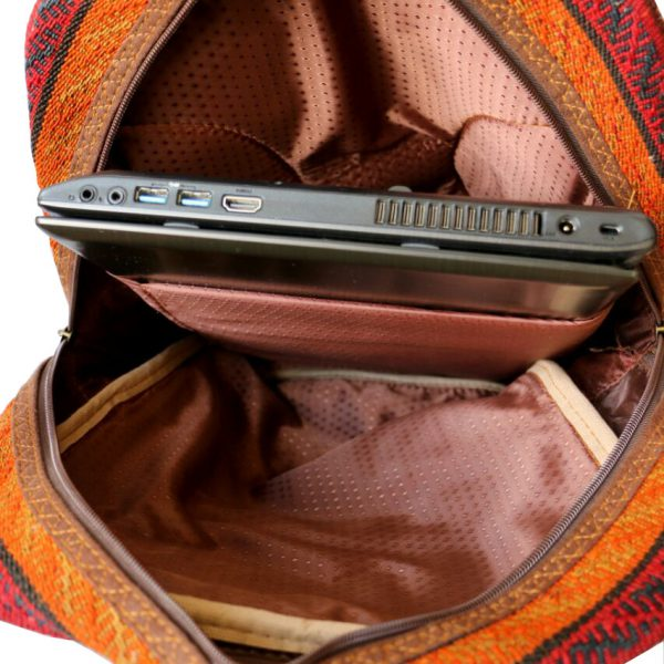 کیف کوله پشتی با محافظ لپ تاپ