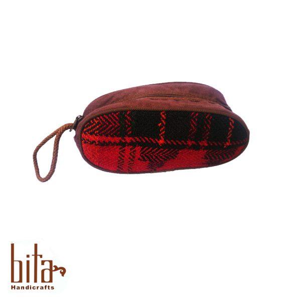 کیف آرایش جاجیمی مشکی