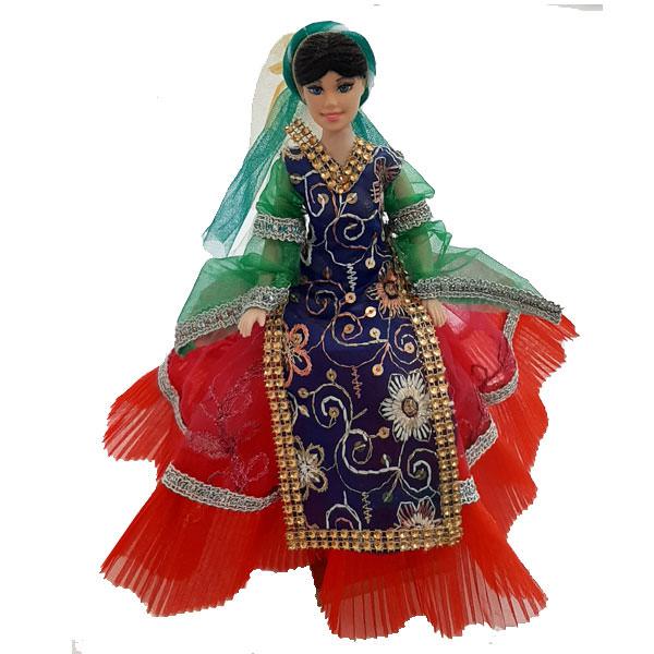 عروسک سنتی دخت با دامن چین دار