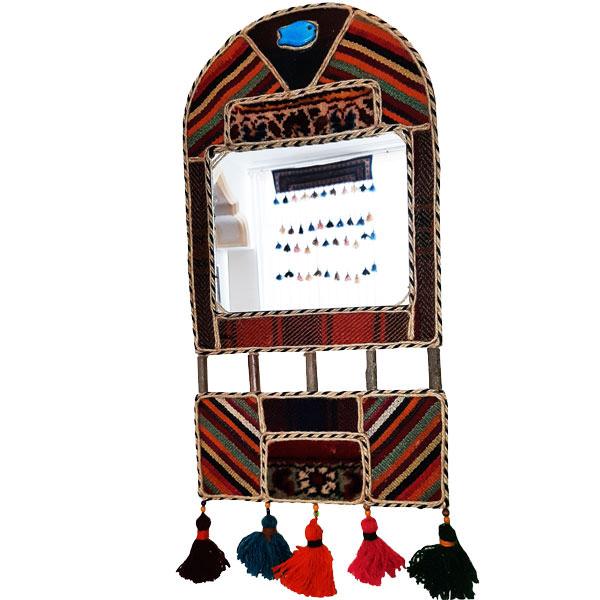 آیینه سنتی طاق دار دو تیکه سایز 2