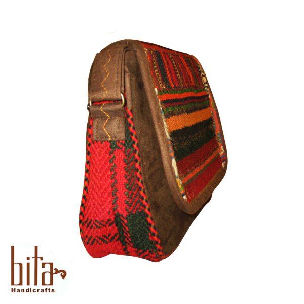 کیف جاجیمی چهل تکه بزرگ طرح حاشیه