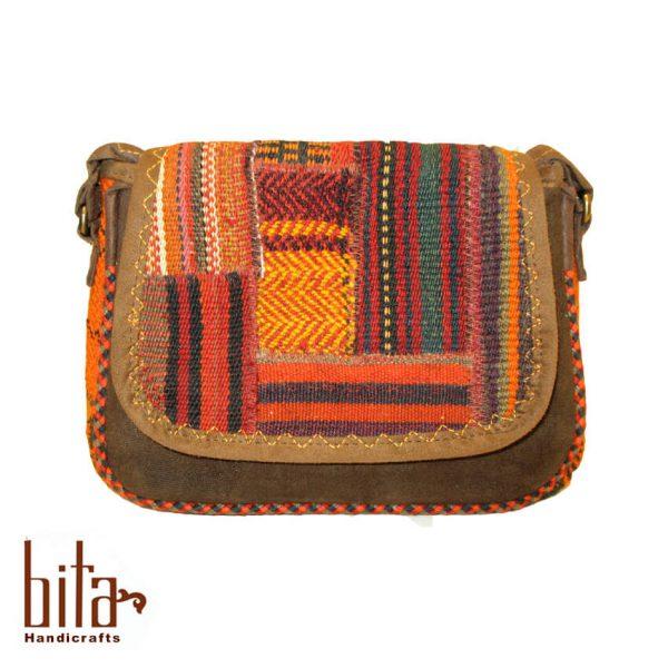کیف جاجیمی چهل تکه کوچک مربعی
