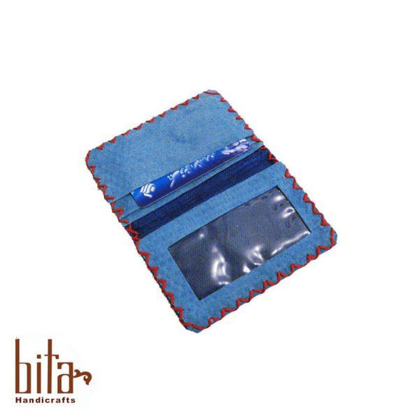 کیف کارت اشبالت آبی