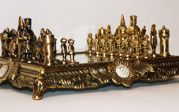 شطرنج فلزی