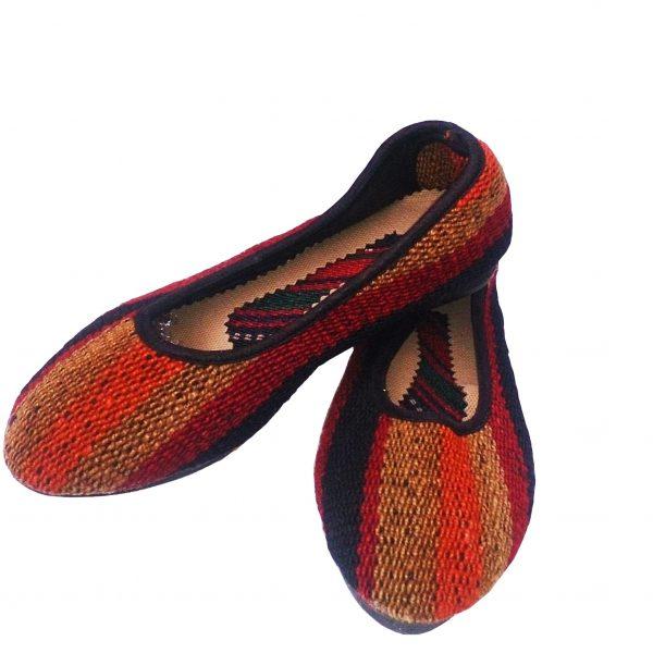 کفش جاجیمی راه راه