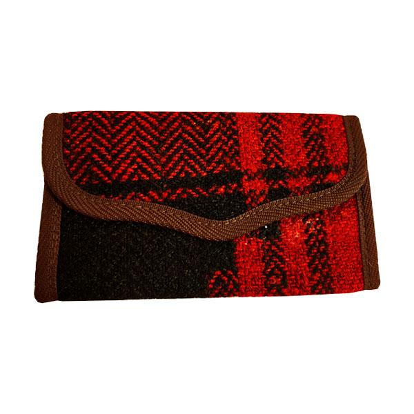 کیف پول جاجیمی قرمز